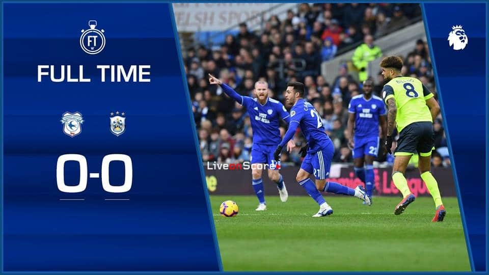 Cardiff City 0-0 Huddersfield Town Full Highlight Video – Premier League 2019