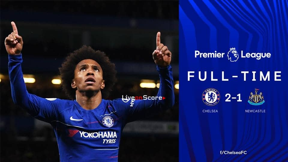 Chelsea 2-1 Newcastle United Full Highlight Video – Premier League 2019