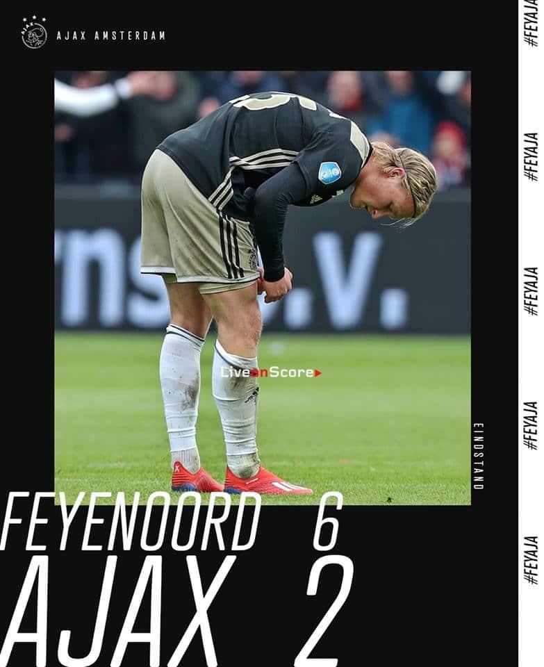 Feyenoord 6-2 Ajax Full Highlight Video - Eredivisie 2019