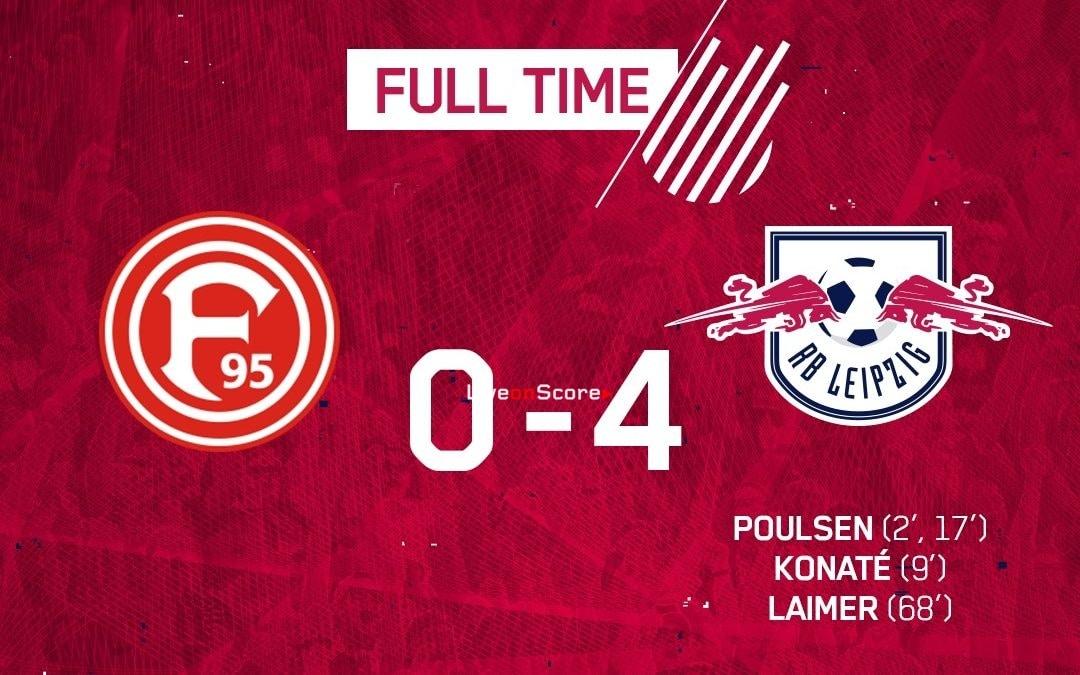 Fortuna Düsseldorf 0-4 RasenBallsport Leipzig Full Highlight Video – Bundesliga 2019
