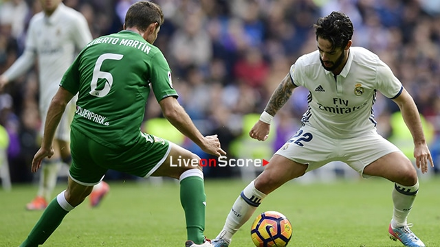 Getafe Real Valladolid Live Score Video Stream And H2h: Leganes Vs Real Madrid Preview And Prediction Live Stream