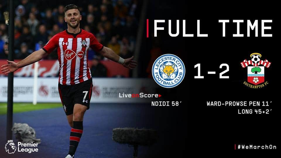 Leicester City 1-2 Southampton Full Highlight Video – Premier League 2019