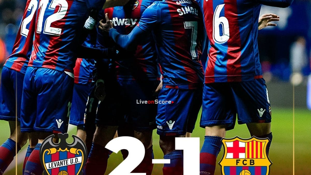 Levante 2-1 Barcelona Full Highlight Video Copa del Rey  2019