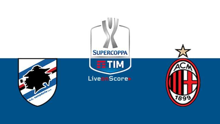 Sampdoria vs AC Milan Preview and Prediction Live Stream Coppa Italia 1/8 Finals  2019