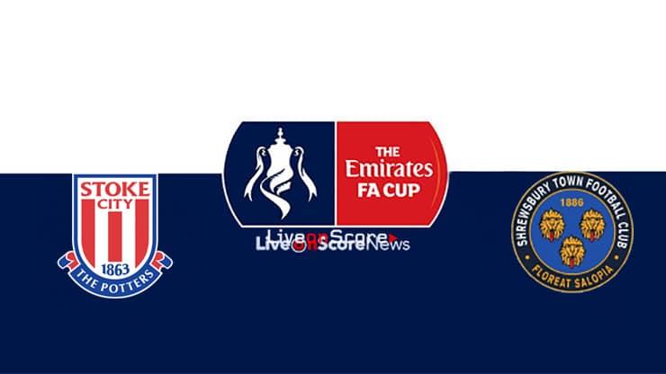 Stoke vs Shrewsbury Preview and Prediction Live stream Fa Cup 2019