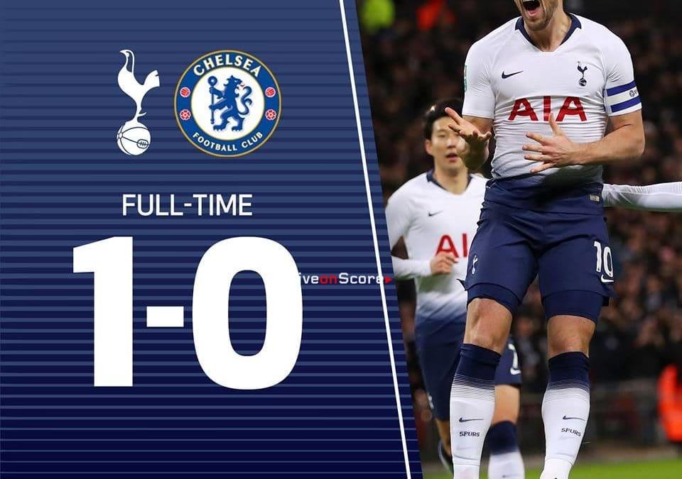 Tottenham Hotspur 1-0 Chelsea FC Full Highlight Video Carabao Cup 2019