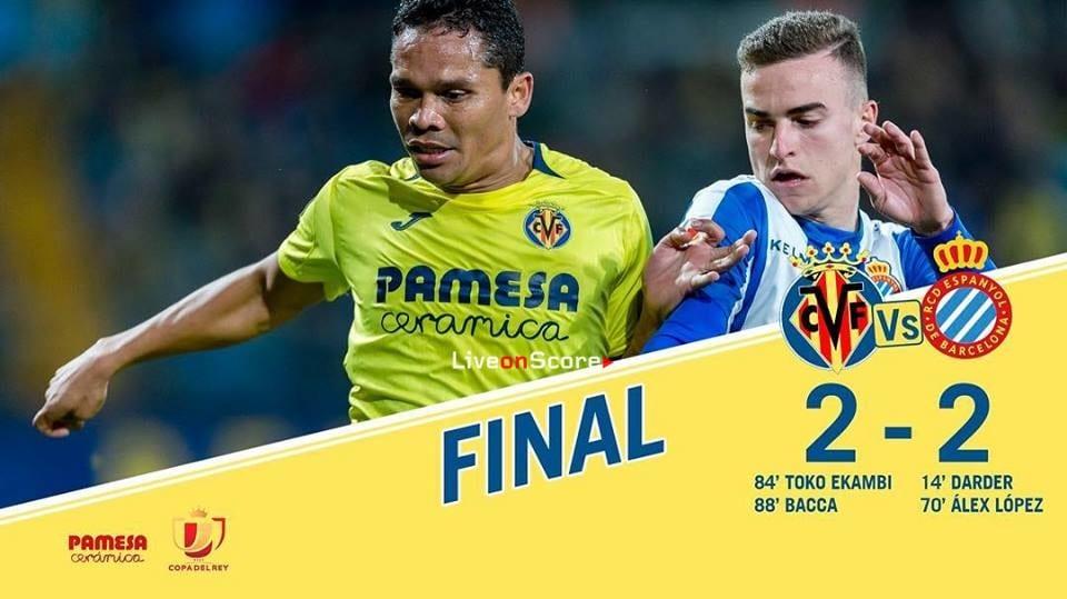 Villarreal 2-2 RCD Espanyol Full Highlight Video Copa del Rey  2019
