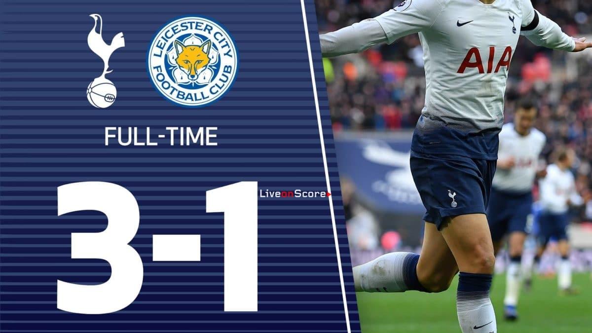 Tottenham Hotspur 3-1 Leicester Full Highlight Video – Premier League 2019