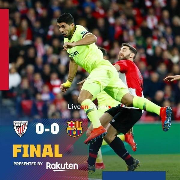 Athletic Bilbao 0-0 Barcelona Full Highlight Video – LaLiga Santander 2019