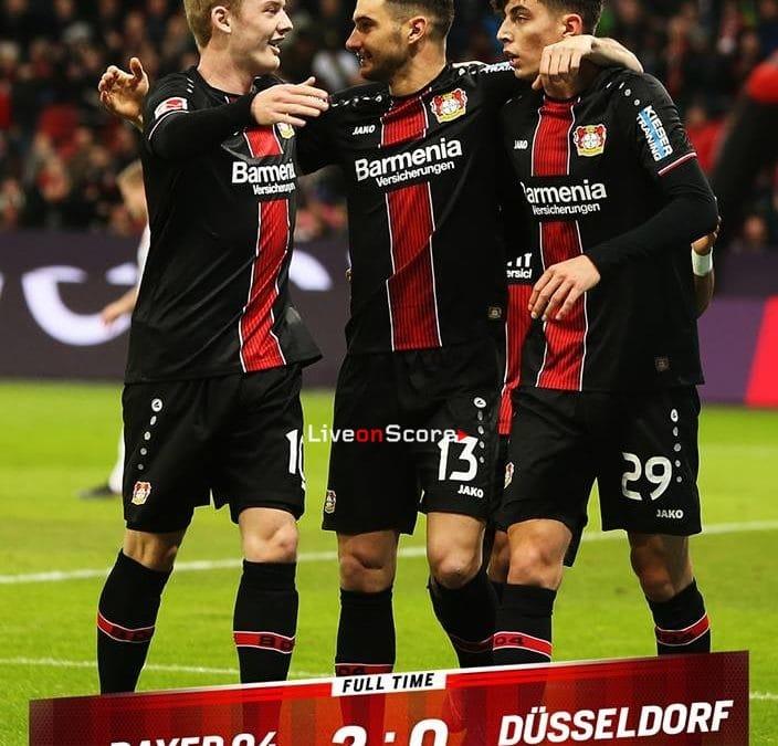 Bayer Leverkusen 2-0 Dusseldorf Full Highlight Video – Bundesliga 2019