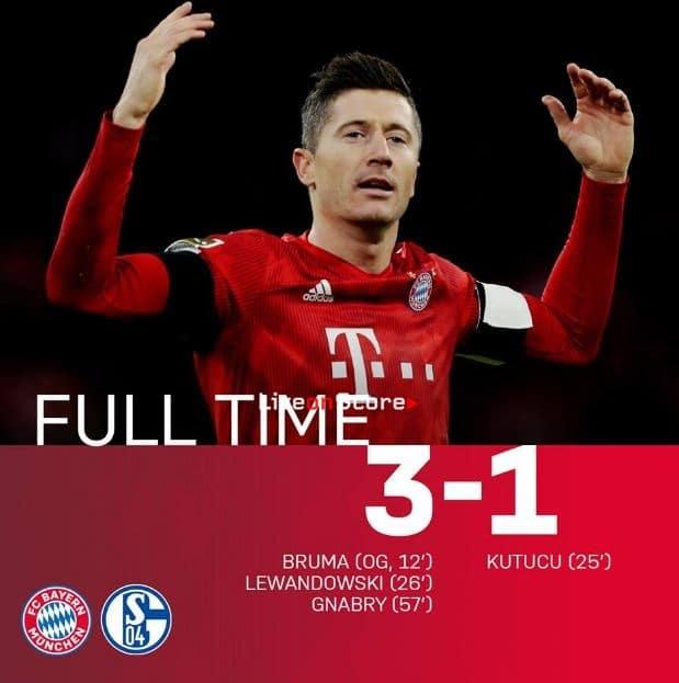 Bayern Munich 3-1 Schalke Full Highlight Video – Bundesliga 2019