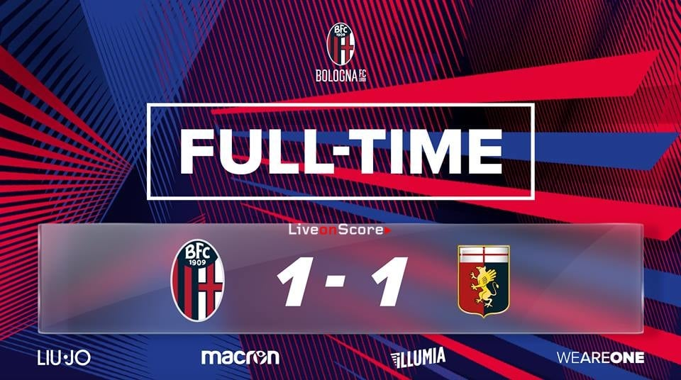 Bologna 1-1 Genoa Full Highlight Video – Serie Tim A 2019