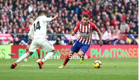 Atletico Madrid lose 3-1 in the Madrid Derby