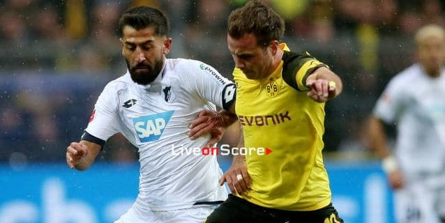Borussia Dortmund 3-3 Hoffenheim match report
