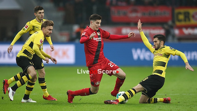 Livestream Dortmund Leverkusen