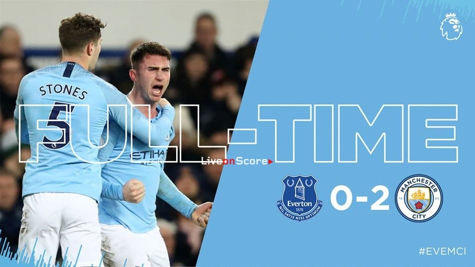 Everton 0-2 Manchester City Full Highlight Video – Premier League 2019