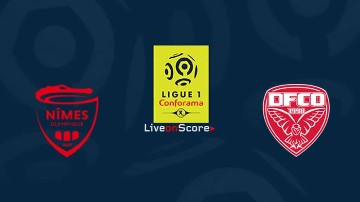 Nimes vs Dijon Preview and Prediction Live stream Ligue 1 2019