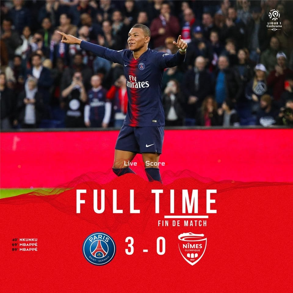Paris Saint Germain 3 0 Nimes Full Highlight Video France Ligue 1 2019paris Saint Germain 3 0 Nimes Full Highlight Video France Ligue 1 2019