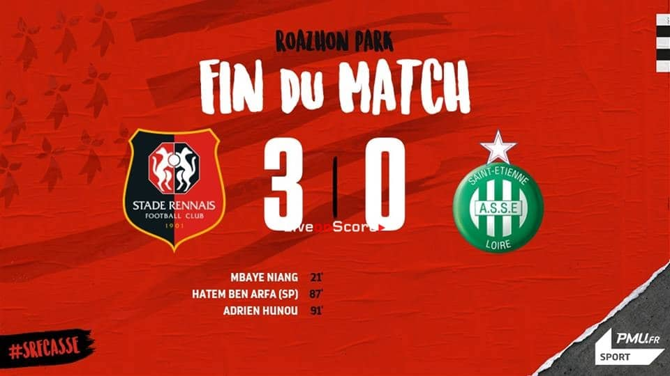 Rennes 3-0 Saint-Etienne Full Highlight Video – France Ligue 1 2019
