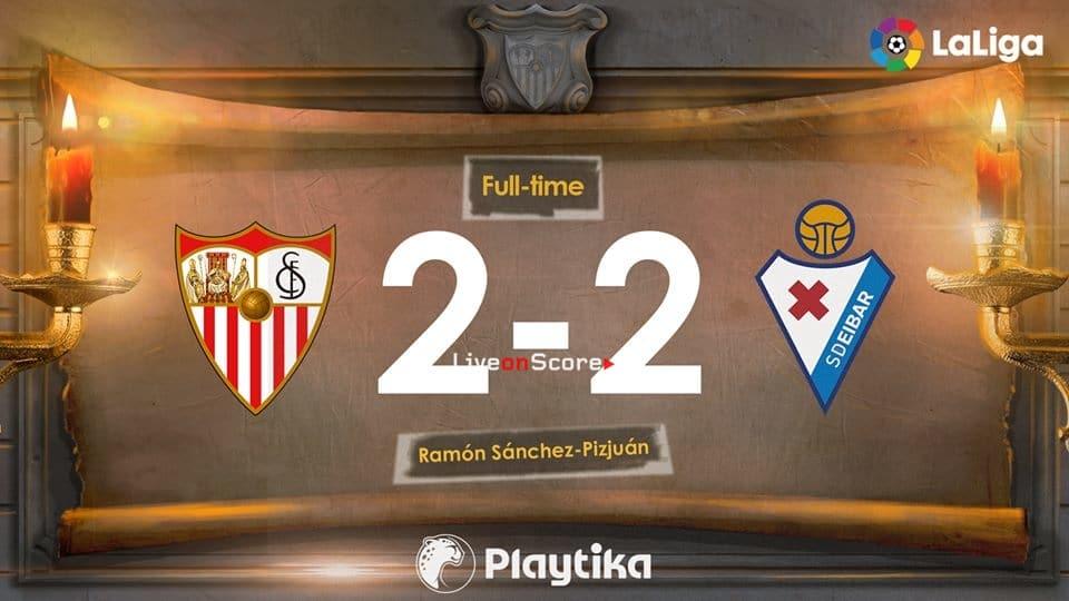 Sevilla 2-2 Eibar Full Highlight Video – LaLiga Santander 2019