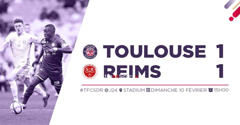 Toulouse 1-1 Reims Full Highlight Video – France Ligue 1 2019