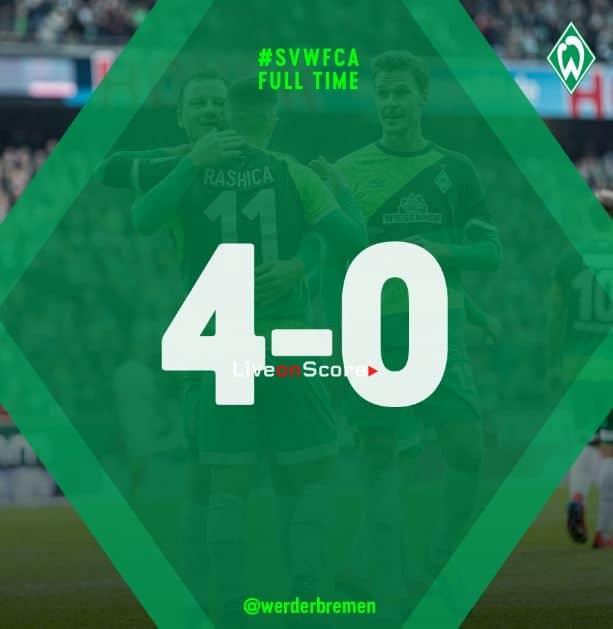 Werder Bremen 4-0 Augsburg Full Highlight Video – Bundesliga 2019