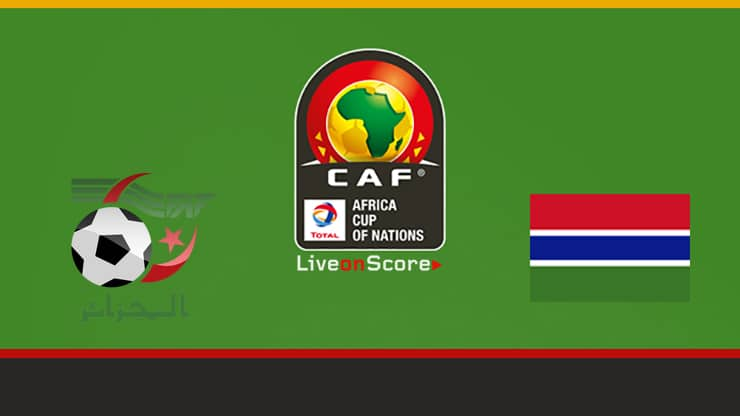 Algeria vs Gambia Preview and Prediction Live stream Africa Cup of
