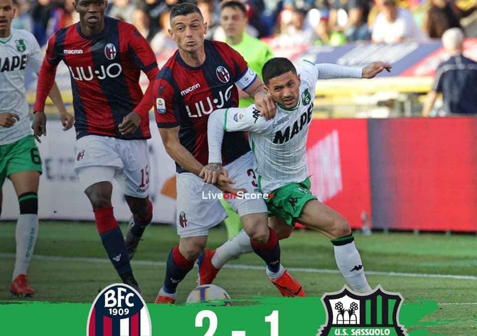 Bologna 2-1 Sassuolo Full Highlight Video – Serie Tim A 2019