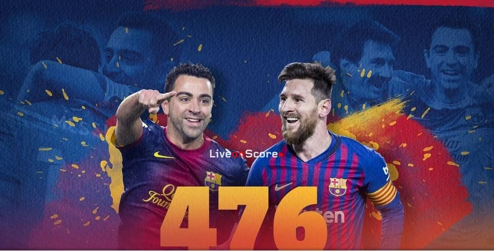 Messi equals Xavi as a player with most Barca wins