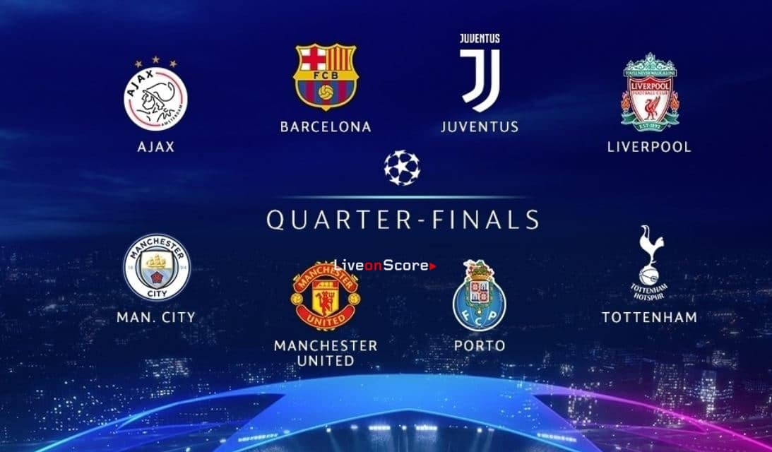 Meet the UEFA Champions League quarter-finalists