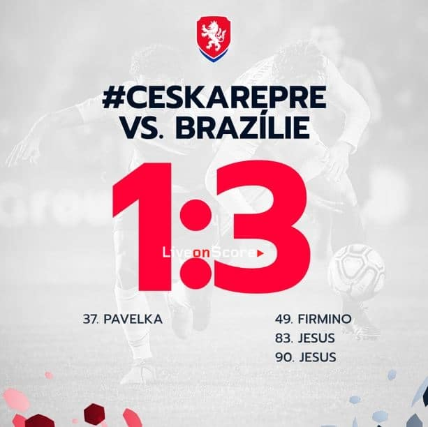 Czech Republic 1-3 Brazil Full Highlight Video – International Friendlies 2019