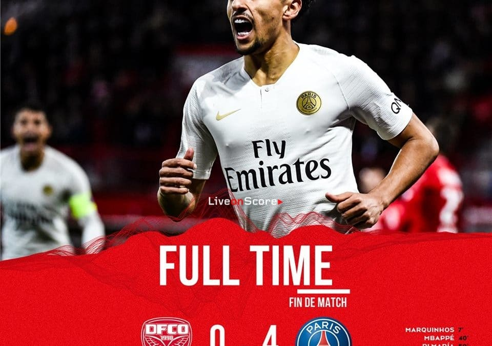 Dijon 0-4 Paris Saint-Germain Full Highlight Video – France Ligue 1 2019
