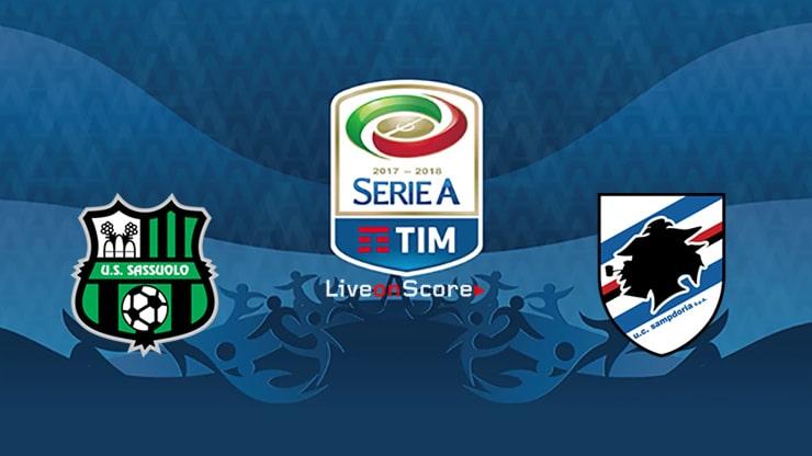 Sassuolo vs Sampdoria Preview and Prediction Live stream Serie Tim A  2019
