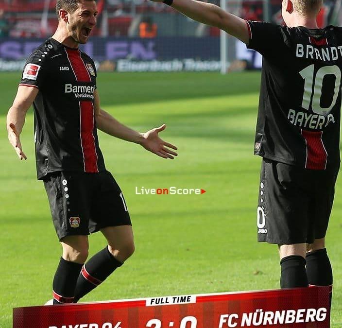 Bayer Leverkusen 2-0 Nürnberg Full Highlight Video – Bundesliga 2019