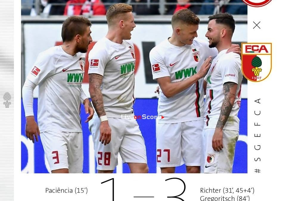 Eintracht Frankfurt 1-3 Augsburg Full Highlight Video – Bundesliga 2019
