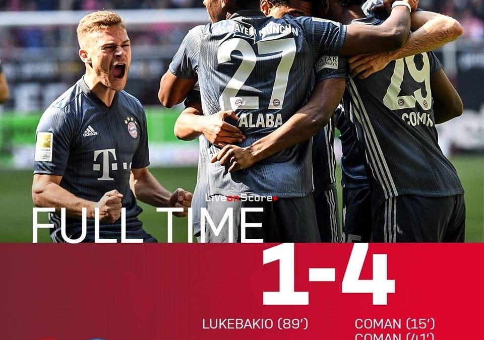 Fortuna Düsseldorf 1-4 FC Bayern München Full Highlight Video – Bundesliga 2019