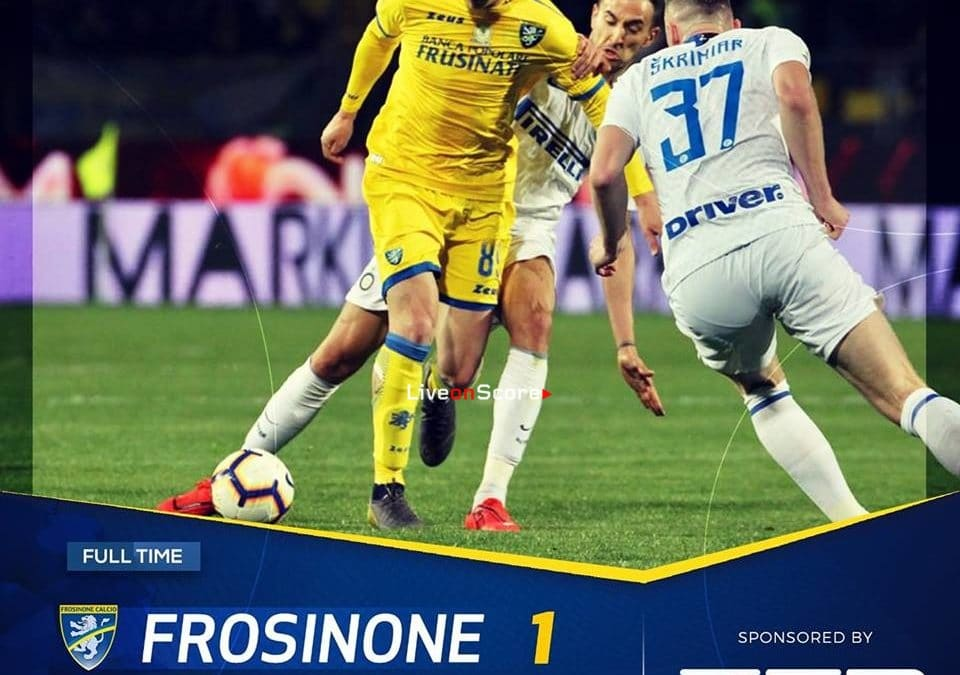Frosinone 1-3 Inter Full Highlight Video – Serie Tim A 2019