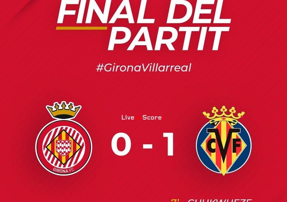 Girona 0-1 Villarreal Full Highlight Video – LaLiga Santander 2019