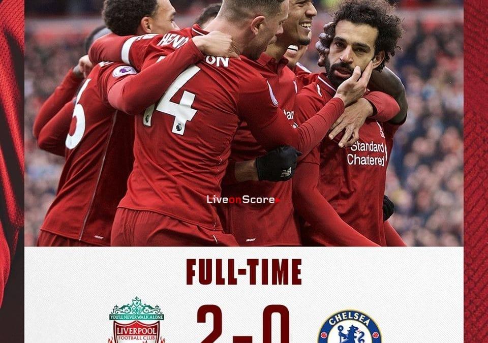 Liverpool 2-0 Chelsea Full Highlight Video – Premier League 2019