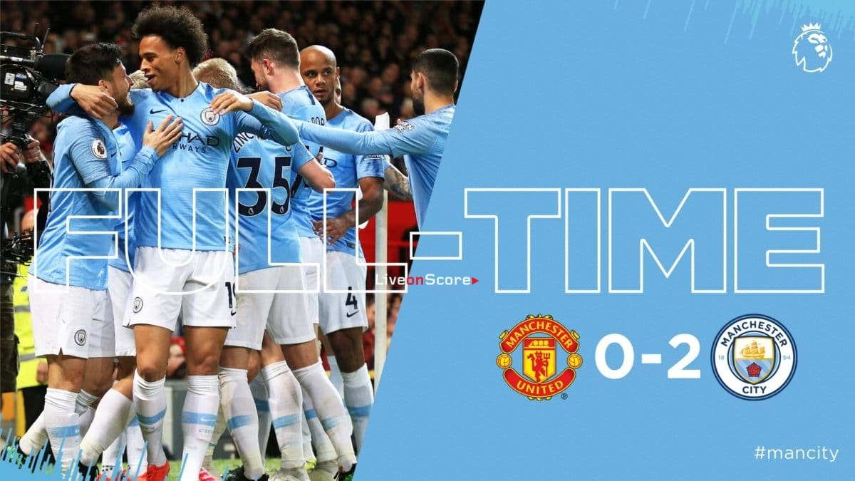 Manchester United 0-2 Manchester City Full Highlight Video – Premier League 2019