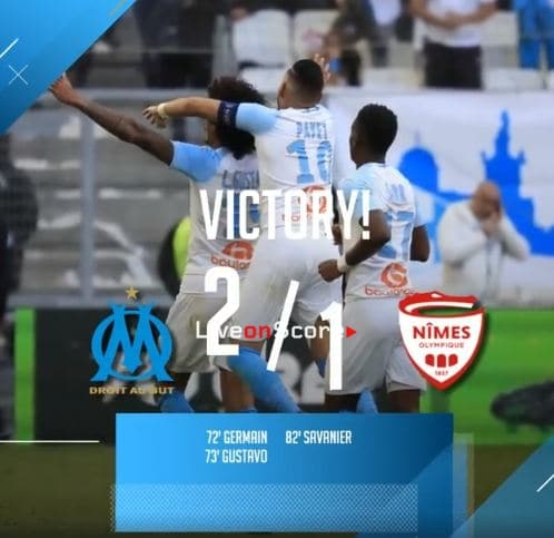 Marseille 2-1 Nimes Full Highlight Video – France Ligue 1 2019