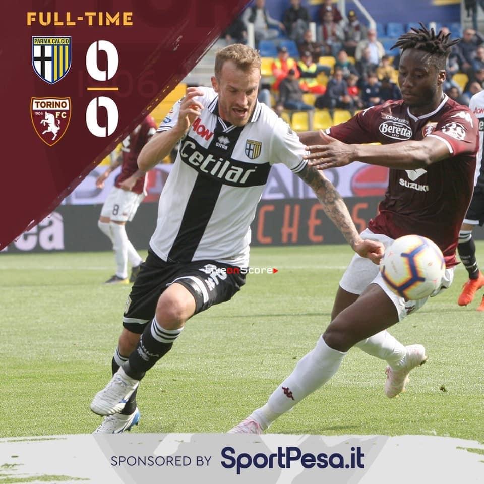 Parma 0 0 Torino Full Highlight Video Serie Tim A 2019