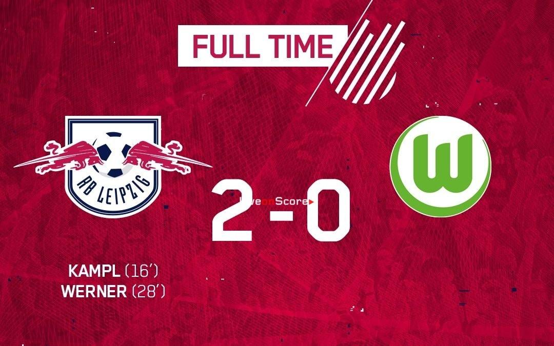 RasenBallsport Leipzig 2-0 Wolfsburg Full Highlight Video – Bundesliga 2019
