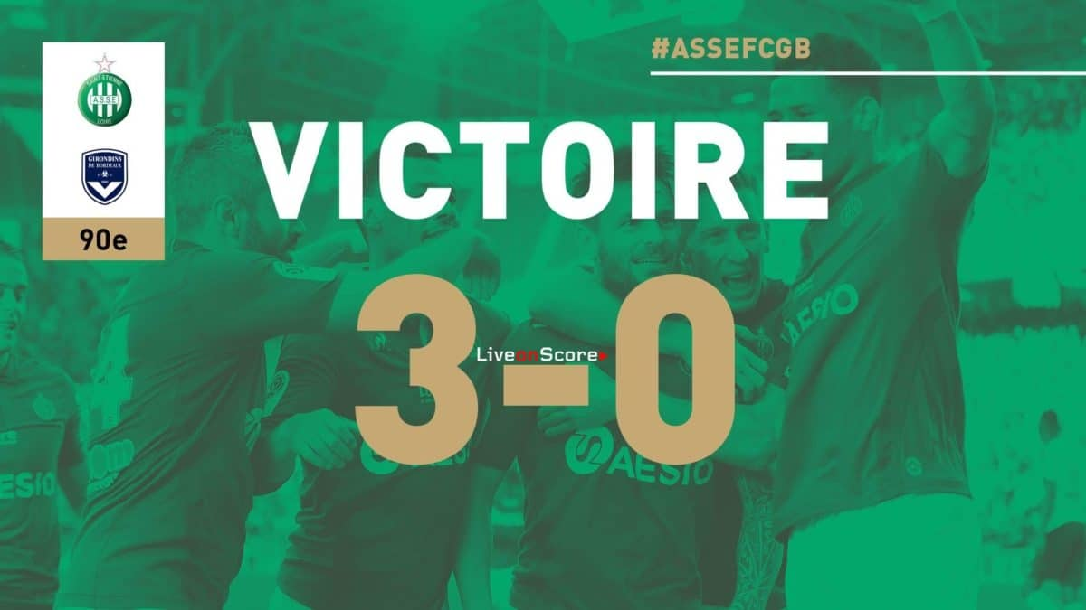 Saint-Etienne 3-0 Bordeaux Full Highlight Video – France Ligue 1 2019