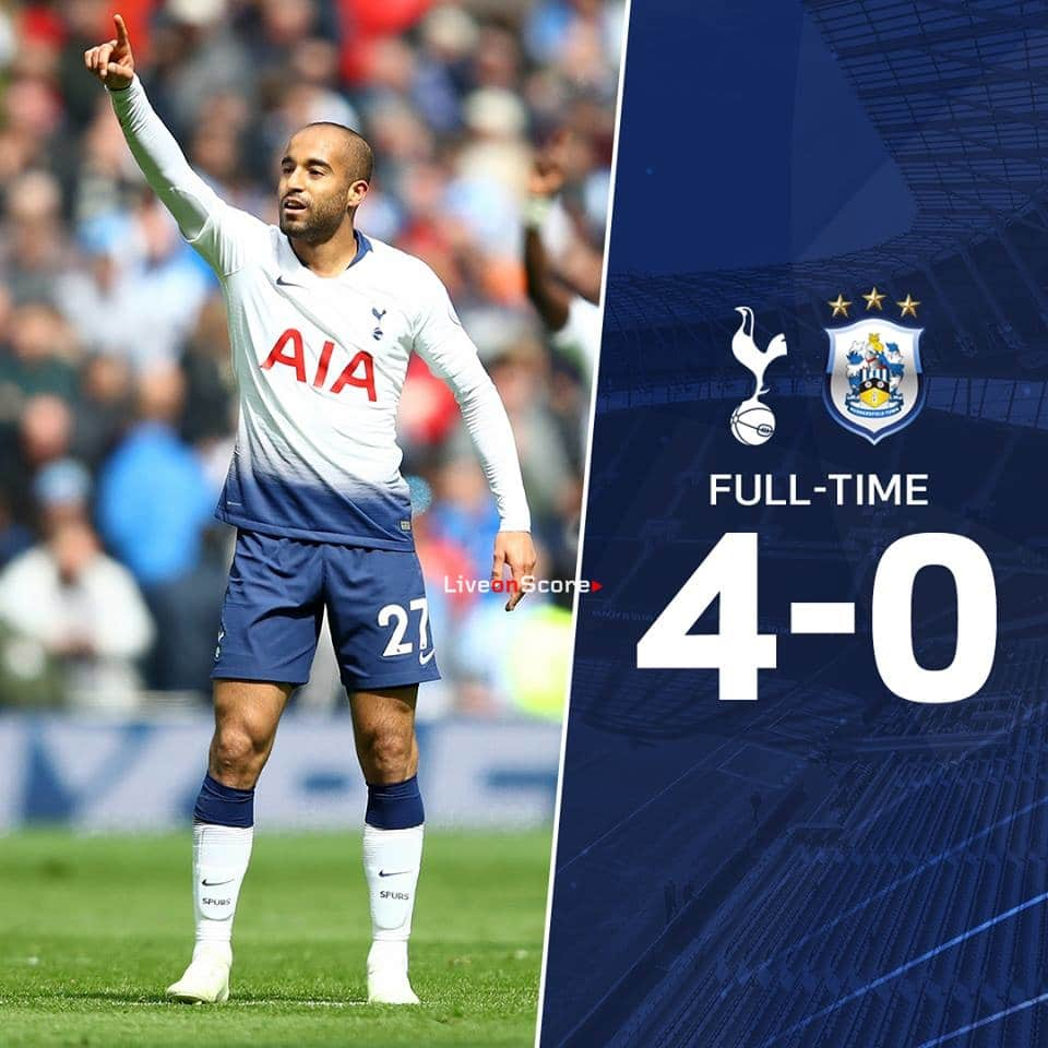 969bedf94 Tottenham Hotspur 4-0 Huddersfield Town Full Highlight Video – Premier  League 2019. All Sports News