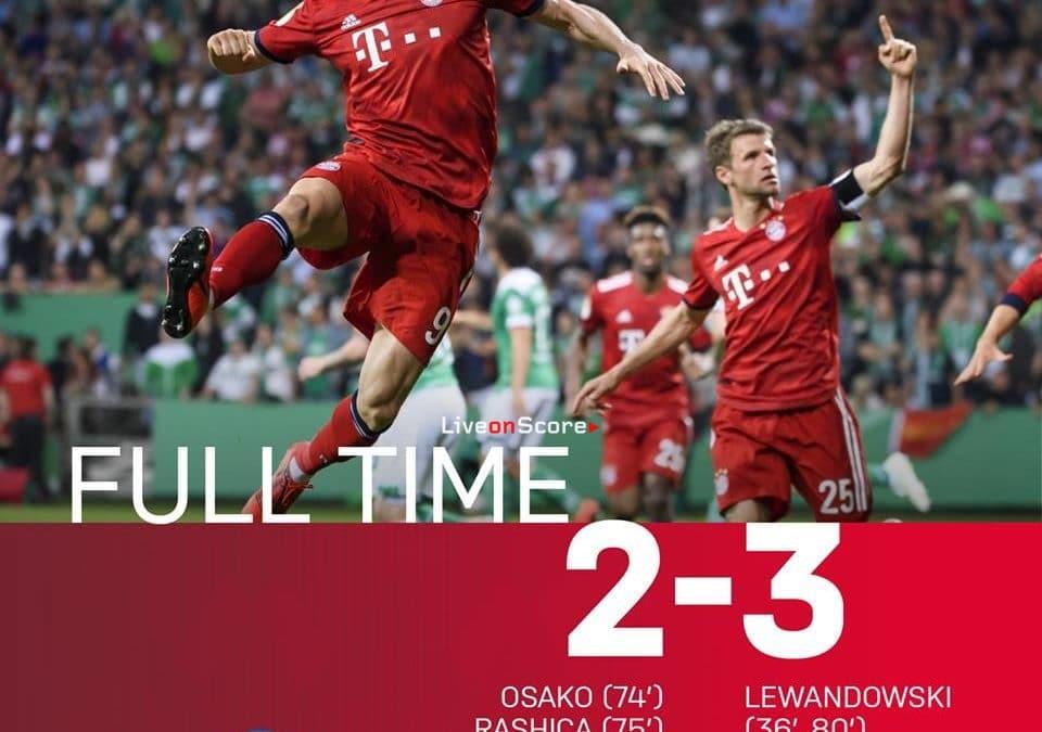 Werder Bremen 2-3 FC Bayern München  Full Highlight Video – DBF Pokal 2019