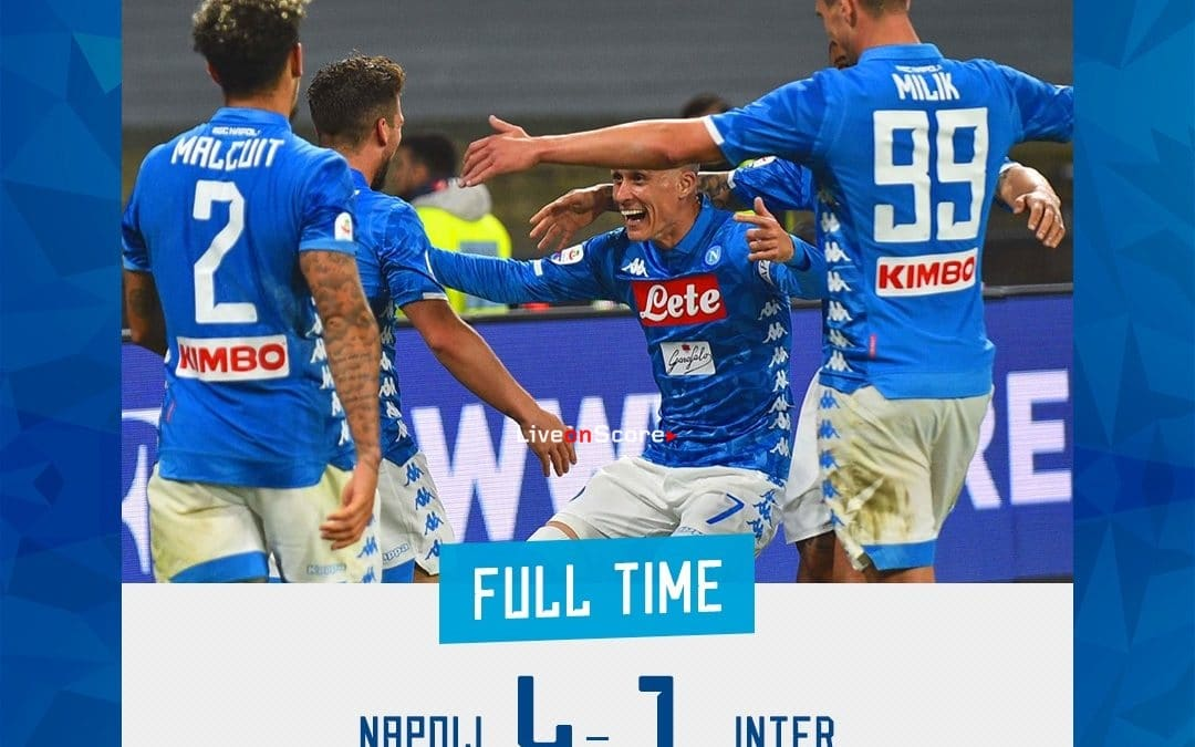 Napoli 4-1 Inter Full Highlight Video – Serie Tim A 2019