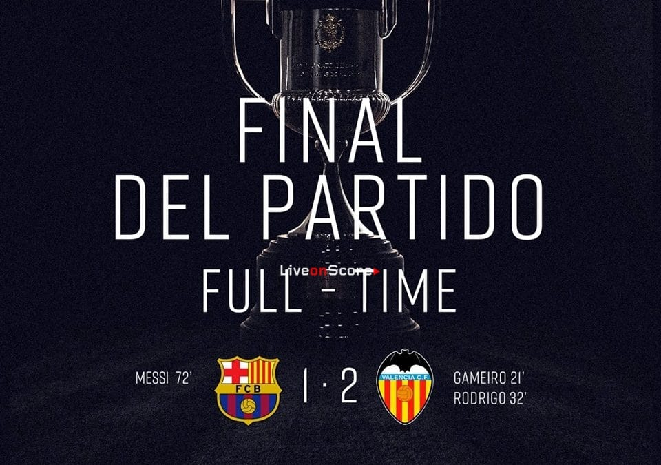Barcelona 1-2 Valencia Full Highlight Video – Copa del Rey Final 2019