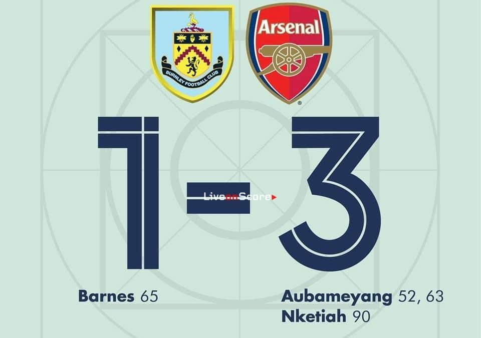 Burnley 1-3 Arsenal Full Highlight Video – Premier League 2019