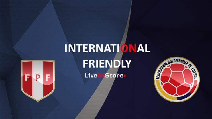 Peru vs Colombia Preview and Prediction Live Stream International Friendly 2019